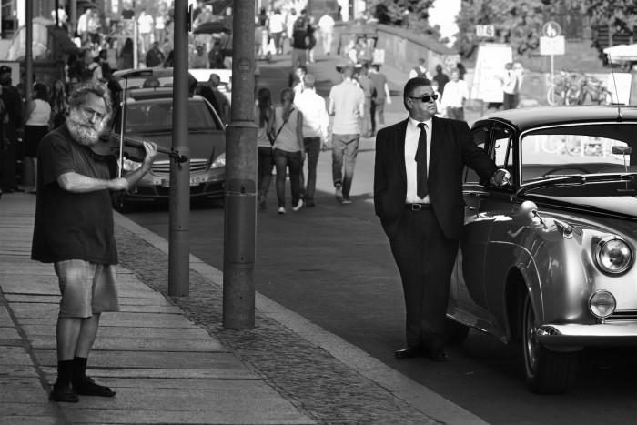 Streetfotografie SW @Rainer Jordan